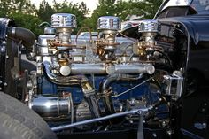 Hot Rods - The devil is in the detail, post pics of engine detailing 57 Chevy Trucks, Gm Trucks, Chevy Pickups, Motor Engine, Car Engine, Engine Detailing, Engine Swap, Race Engines, Panel Truck
