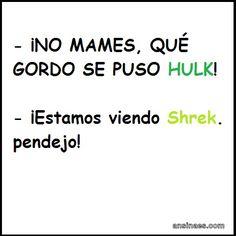 Que gordo se puso Hulk! #jajaja