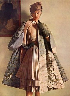 Jacques Fath 1951 Evening Gown