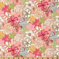 Liberty Of LondonTana Lawn Mauvey Pink from @fabricdotcom  From the world famous  Liberty Of London, this exquisite cotton lawn fabric is finely woven, light weight and ultra soft.    This gorgeous fabric is oh so perfect for flirty blouses, dresses, lingerie, tunics, tops and more.  This versatile cotton lawn fabric can also be used for quilting and patchwork.  Colors include pink, green, white, light blue, yellow and white.