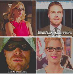 Arrow - Oliver & Felicity #4.1 #4.4 #Olicity <3<3<3