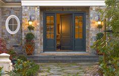 graphite front door