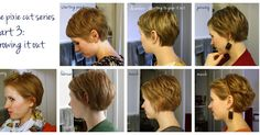 How to grow out a pixie haircut. For when I'm done rocking the short hair