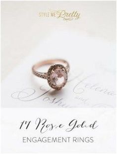 awesome 222 Luxury Rose Gold Engagement Ring Vintage For Your Perfect Wedding femaline. Oval Engagement, Rose Gold Engagement Ring, Vintage Engagement Rings, Vintage Rings, Wedding Jewelry, Wedding Rings, Wedding Gold, Wedding Fun, Rings 2017