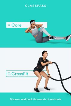 ClassPass - 2 weeks for $9 - Find your city - Core and Crossfit - Thousands of options!