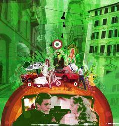 Tim Marrs Human Condition, Landscape Illustration, Urban Landscape, People, Ox, People Illustration, Folk