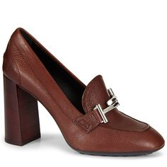 TOD'S Leather Pumps. #tods #shoes #