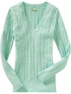 Old navy mini cable-knit vneck sweaters - every color in the rainbow! $27