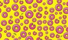 wallpaper donuts