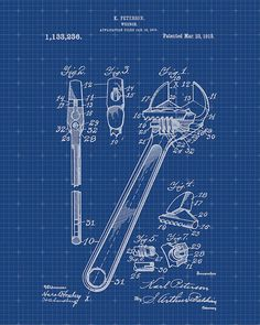 Hey, I found this really awesome Etsy listing at https://www.etsy.com/listing/203392723/patent-print-of-a-wrench-patent-art