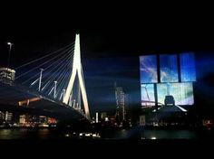 OMA's De Rotterdam Becomes Screen for Stunning Video Projection / ArchDaily | #rotterdam
