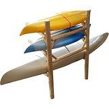 Dock Kayak Rack!  #3place #rustic #racks