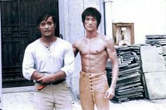 Bruce lee with danny inosanto
