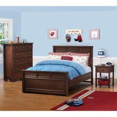 Cafekid Parker 4-piece Twin with Trundle Bedroom Set | Children ...
