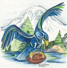Take-off Seattle Seahawks