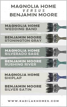 Magnolia Paint Colors, Fixer Upper Paint Colors, Magnolia Homes Paint, Matching Paint Colors, Grey Paint Colors, Exterior Paint Colors, Paint Colors For Home, House Colors, Neutral Paint