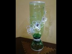 Best Out Of Waste Plastic Bottles transformed to very elegant glass show...