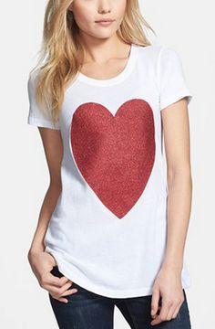 happy heart tee
