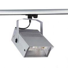 HQI-TS FLOODLIGHT 150W mit Bügel, silbergrau / LED24-LED Shop