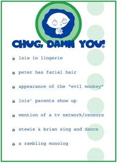 official Family Guy drinking game!