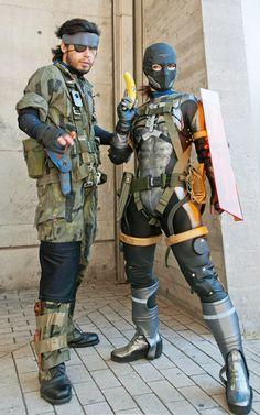 Flawless cosplay of Metal Gear Solid Peacewalker.