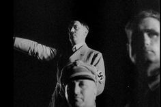 """putschgirl: """" Hitler, Robert Ley and Rudolf Hess in 1933. Ley was sober every February 29 (and that is only a slight exaggeration). """""""