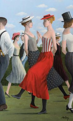 Catto Gallery | Alan Parry Solo Exhibition 2016 | Country Dance