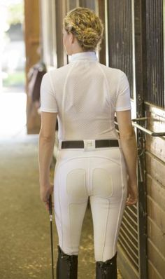 Keeping Whites – White- Tricks and Trades of the Equestrian World