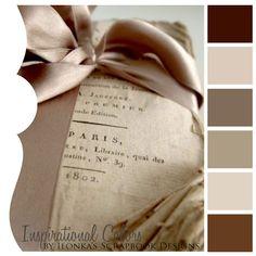Inspirational Colors by Ilonka's Scrapbook Designs