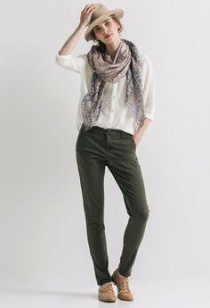 4 pantalons - 4 styles