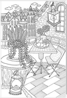 Invite to Scandi [MADE IN KOREA] Coloring Book For Children Adult Graffiti Painting Drawing Book Like SECRET GARDEN