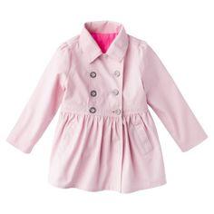 Genuine+Kids+from+OshKosh+Infant+Toddler+Girls+Trench+Coat+-+Pink