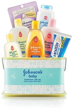 Johnson's Bathtime Essentials Gift Set - Contents May Vary, 2016 Amazon Most Gifted Baby & Child Care  #Health-Personal-Care