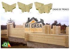 CASA DE MADERA LOGROÑO 60m2 - CASA PREFABRICADA, RUSTICA, VIVIENDA - MI CASA DE MADERA