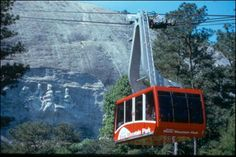 Skyride @ Stone Mountain GA.  A great place to take the family anytime of the year.