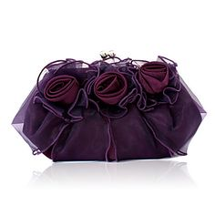 Gorgeous Satin/ Tulle Shell Evening Handbags/ Clutches More Colors Available Violet Rouge, Outdoor Wedding Dress, Wedding Dresses, Bridal Handbags, Wedding Bag, Spring Wedding, Wedding Ideas, Satin Tulle, Ivoire
