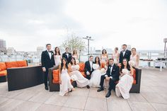 Tribeca Rooftop wedding in New York City, NY, captured by NY wedding photographer Ben Lau.