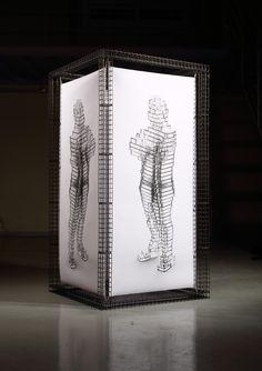 art,sculpture,steel,print,inkjet,architecture