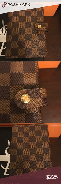 Spotted while shopping on Poshmark: Louis Vuitton Damier Agenda PM! #poshmark #fashion #shopping #style #Louis Vuitton #Accessories