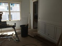 4.9 wainscoting and trim going into dining room