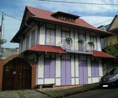 maison Guyane typique
