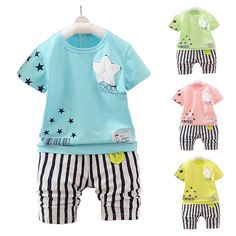 Hot trending item: 2017 Summer Child... Check it out here! http://jagmohansabharwal.myshopify.com/products/2017-summer-childrens-suit-baby-boy-newborn-baby-boy-girl-clothing-kids-suits?utm_campaign=social_autopilot&utm_source=pin&utm_medium=pin