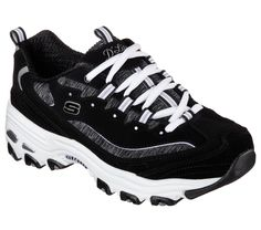 SKECHERS D'Lites Me Time shoe - Love the black & love the grey!