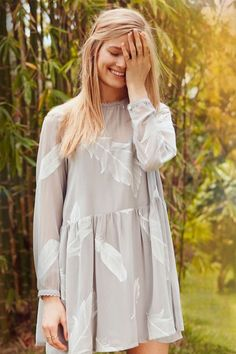 Little White Lies Charli Dress #dress #feathers