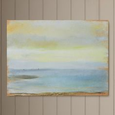 """Marine Sunset"" by Edgar Degas Painting Print on Canvas"