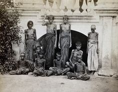 India, the Great Madras Famine of 1876-78.