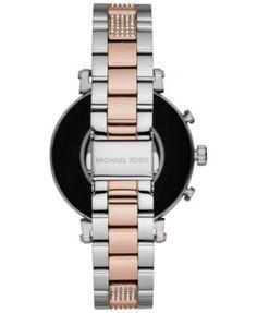 ee8d70d2bad5 Michael Kors Access Women s Sofie Heart Rate Two-Tone Stainless Steel  Bracelet Touchscreen Smart Watch