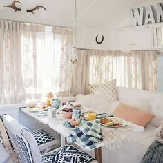 good morning!! i'm going to be sharing more from my airstream reno again today... hope you don't mind! // if you didn't get a chance don't forget to pop over to the @anthropologie blog for the story