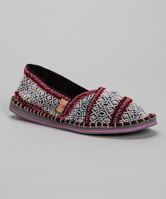 Take a look at this Red Hendrix Slip-On Shoe by TigerBear Republik on #zulily today!