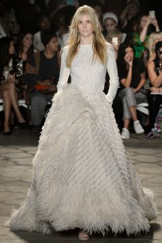 Christian Siriano Spring 2016 Ready-to-Wear Fashion Show. Printemps 2016  #mode #fashion